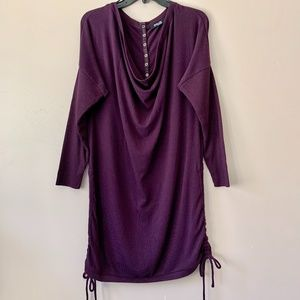 Threads Saks Fifth Avenue Purple Sweater Dress